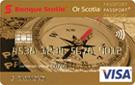 Carte VISA Or Scotia Passeport<sup>MD</sup>