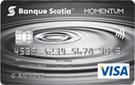 Carte Visa* <em>Momentum Scotia</em><sup>MD</sup> sans frais annuels