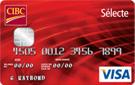 Carte Sélecte CIBC Visa<sup>MC</sup>