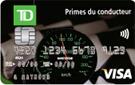 Carte Visa TD Primes du conducteur