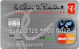 Carte MasterCard Services financiers le Choix du Président