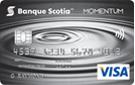 Carte VISA Momentum Scotia<sup>MD</sup>