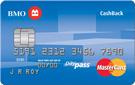 BMO<sup>®*</sup>  CashBack MasterCard<sup>®*</sup>