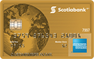 Scotiabank®* Gold American Express® Card
