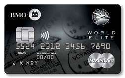 Bmo Car Loan >> BMO® AIR MILES®† World Elite®* MasterCard®*