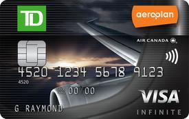 TD® Aeroplan® <i>Visa Infinite*</i> Card