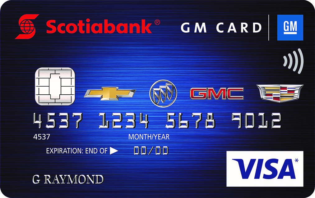 Scotiabank® GM®* VISA* Card