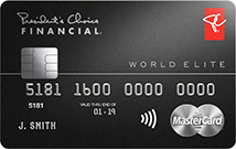 President's Choice Financial<sup>®</sup> World Elite MasterCard<sup>®</sup>