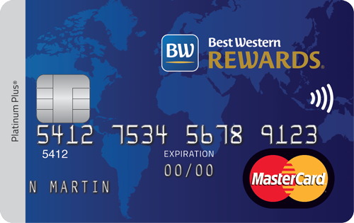 La carte de crédit MasterCardMD Best Western Rewards MD