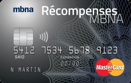 La carte de crédit MasterCardMD Récompenses MBNA World Elite<sup>MD </sup>