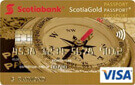 ScotiaGold Passport® VISA* card