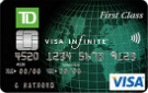 TD First Class Travel <i>Visa Infinite*</i> Card