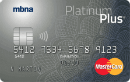 MBNA Platinum Plus® <em>MasterCard®</em> Credit Card