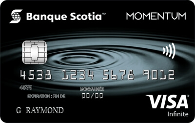 Carte VISA Infinite* <em>Momentum Scotia</em><sup>MD</sup>
