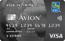 RBC Royal Bank® Visa Infinite<sup>‡</sup> Avion®