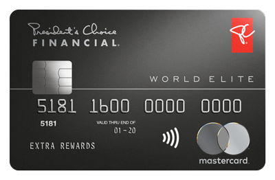 President's Choice Financial® World Elite Mastercard®