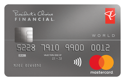 President's Choice Financial<sup>®</sup> World Mastercard<sup>®</sup>