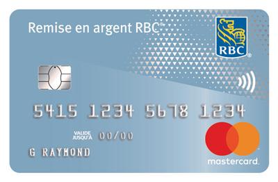 Carte Remise en argent MasterCard<sup>‡</sup> RBC<sup>®</sup>