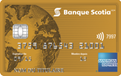 Carte American Express<sup>MD</sup> Or de la Banque Scotia<sup>MD*</sup>