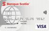 Carte Visa* <em>minima Scotia</em><sup>MD</sup> sans frais annuels