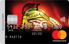 Carte de crédit Mastercard<sup>MD</sup> Sénateurs d'Ottawa<sup>MD</sup> récompenses MBNA