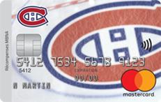 Carte de crédit Mastercard<sup>MD</sup> Canadiens de Montréal<sup>MD</sup> récompenses MBNA