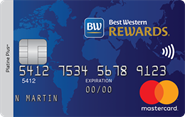 La carte de crédit Mastercard<sup>MD</sup> Best Western Rewards<sup>MD</sup>