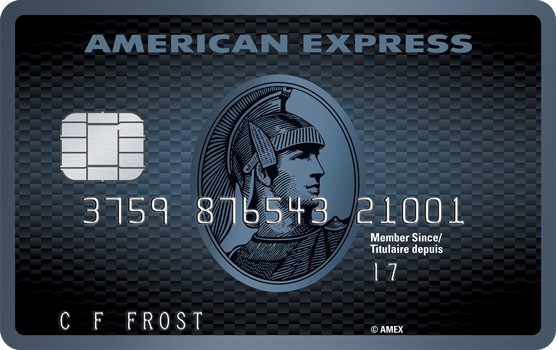 American Express Cobalt<sup>TM</sup> Credit Card