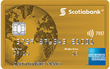 Scotiabank<sup>®</sup>* Gold American Express<sup>®</sup> card