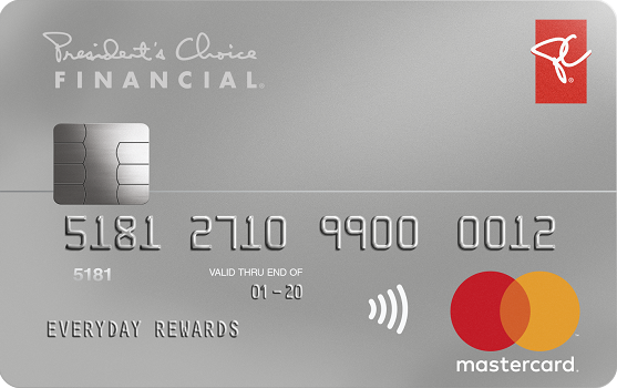 President's Choice Financial<sup>®</sup> Mastercard<sup>®</sup>