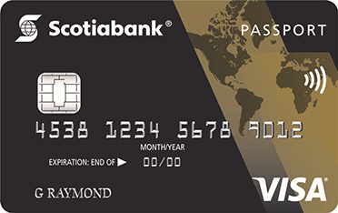 <em>ScotiaGold Passport</em><sup>®</sup> VISA* card