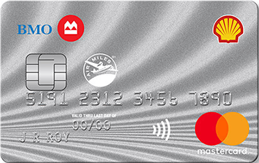 Shell AIR MILES<sup>®</sup>† MasterCard<sup>®</sup>* from BMO
