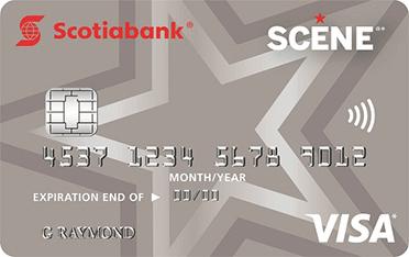 SCENE<sup>®*</sup> VISA* Card