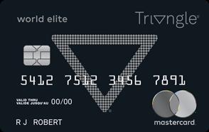 Triangle<sup>™</sup>World Elite  Mastercard<sup>®</sup>