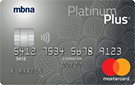 MBNA Platinum Plus<sup>®</sup> Mastercard<sup>®</sup> Credit Card