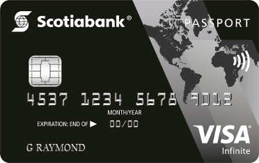 Scotiabank Passport<sup>®</sup> Visa Infinite* Card