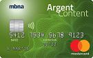 Mastercard<sup>ᴹᴰ</sup> Platine Plus<sup>ᴹᴰ</sup> Argent Content MBNA