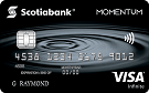 Scotia Momentum<sup>®</sup> Visa Infinite* Card
