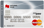 National Bank Syncro Mastercard<sup>®</sup>