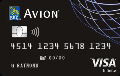 RBC Visa Infinite<sup>‡</sup> Avion<sup>®</sup>
