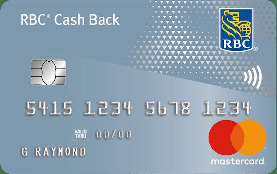RBC<sup>®</sup> Cash Back MasterCard<sup>‡</sup>