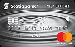 Scotia Momentum<sup>®</sup> Mastercard <sup>®*</sup> Credit Card