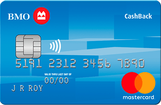 BMO student cashback mastercard