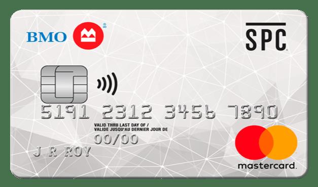 BMO SPC<sup>®**</sup> CashBack<sup>®</sup>  Mastercard<sup>®*</sup>