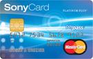 MasterCard<sup>MD</sup> SonyCard