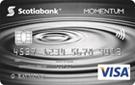 Scotia <em>Momentum®</em> No-Fee VISA* card