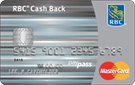 RBC® Cash Back MasterCard<sup>‡</sup>